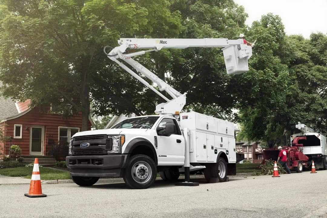 2018 Ford Super Duty XL Chassis Cab as a Cable Truck