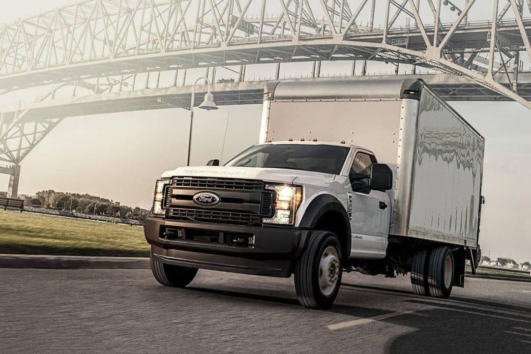 2018 Ford Super Duty XL Regular Chassis Cab as Box Truck