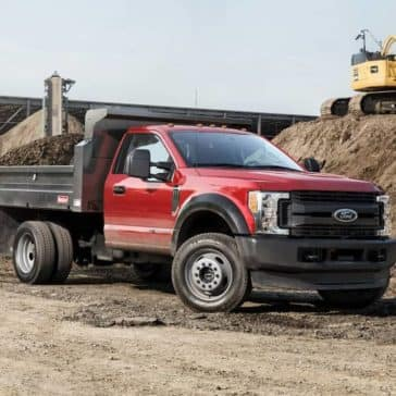 2018 Ford Super Duty XL Regular Chassis Cab as dump truck