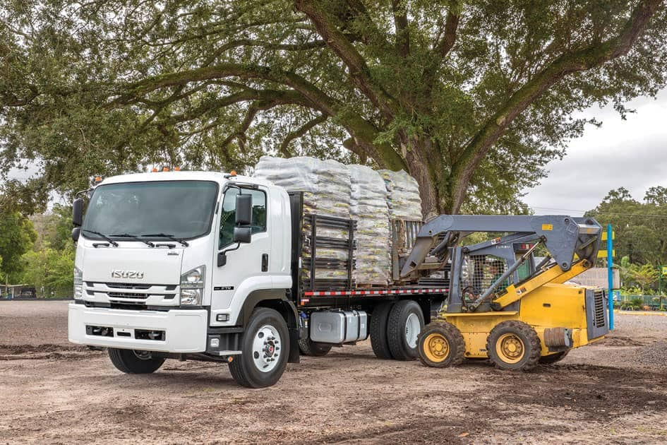 Isuzu F-Series Loaded Stakebed Truck
