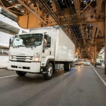 Isuzu F-Series Long Box Truck