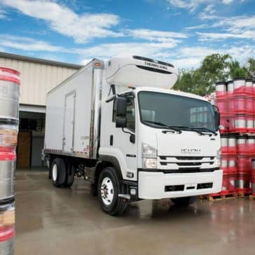 Isuzu F-Series Refrigerated Truck