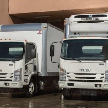 Isuzu NPR Diesel Box Trucks