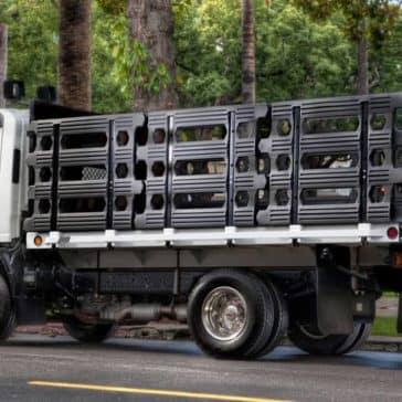 Isuzu NPR Gas Stakebed Truck