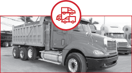 several trucks icon