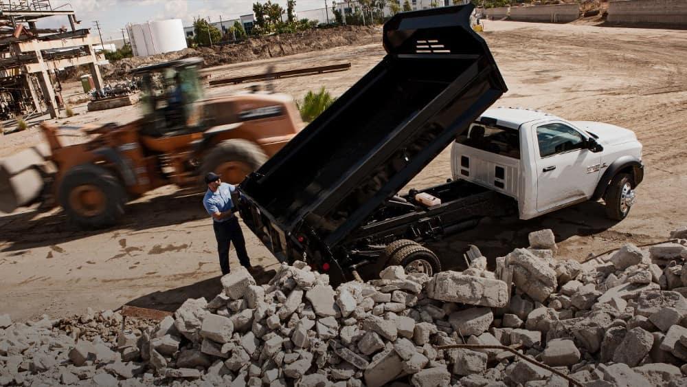 2018 Ram Chassis Cab Dumping Truck Upfit