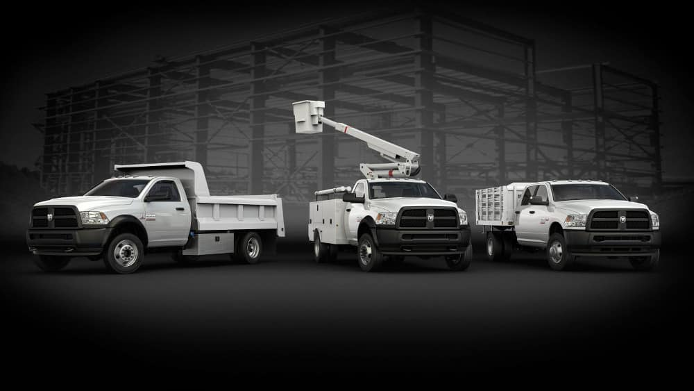 2018 Ram Chassis Cab Upfit Options
