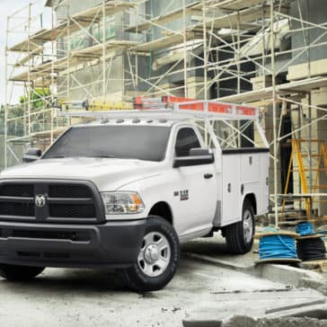 2018 Ram Chassis Cab Upfit with Ladder Rack