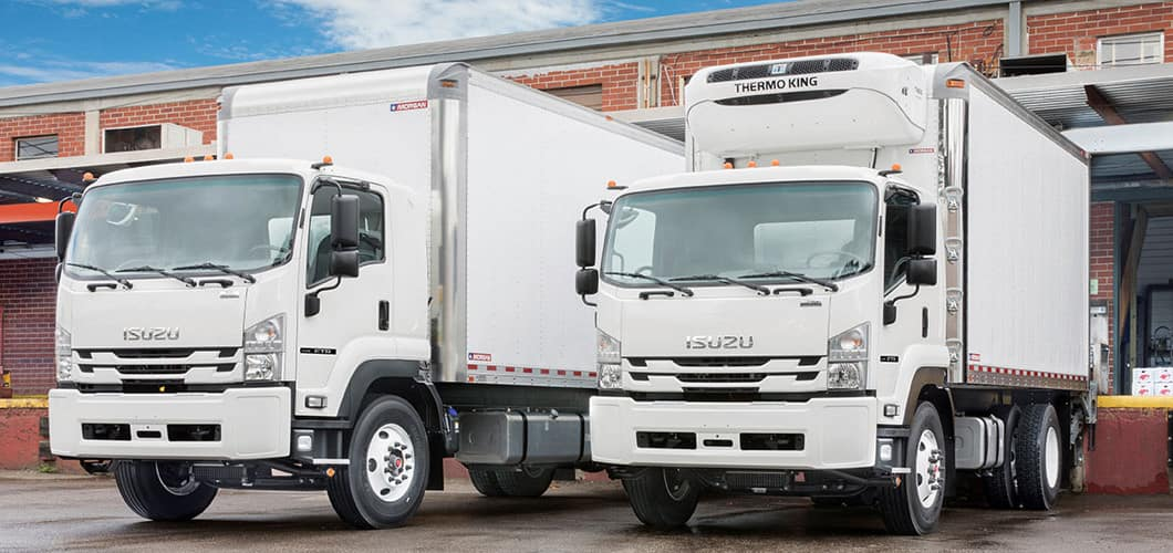 Isuzu F-Series Diesel Box Trucks