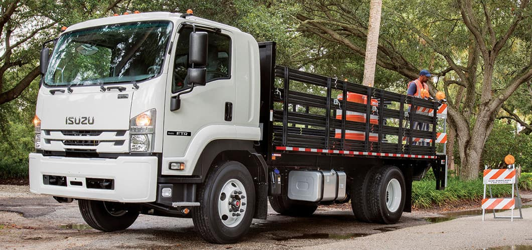 Isuzu F-Series Diesel Flatbed Truck