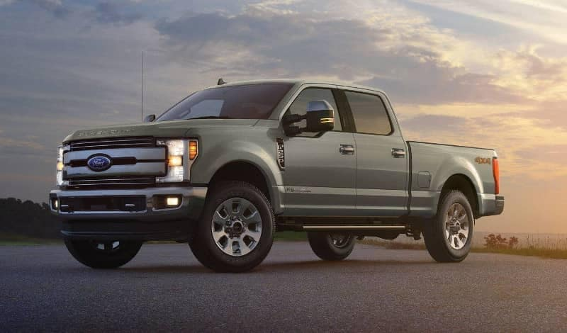 2019 Ford Super Duty crew cab exterior