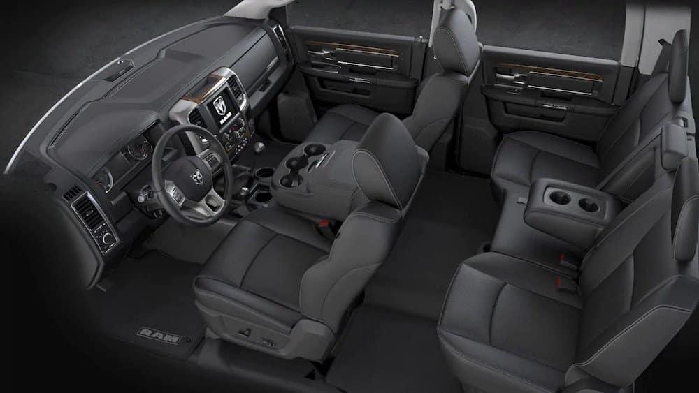 2018 Ram Chassis Cab interior