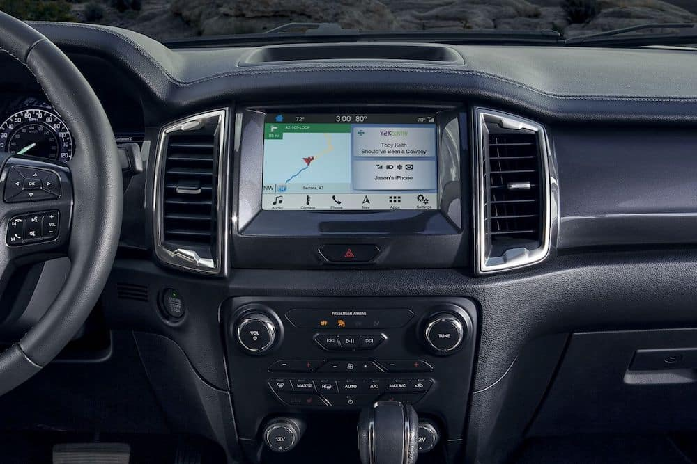 2019 Ford Ranger LARIAT Instrument Panel