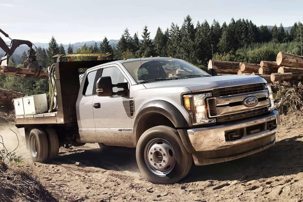 2019 Ford Super Duty flatbed