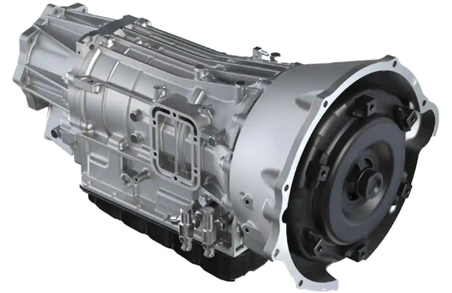AISIN six-speed automatic transmission