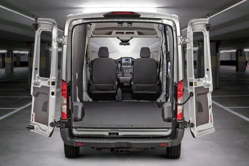 2019 Ford Transit cargo area