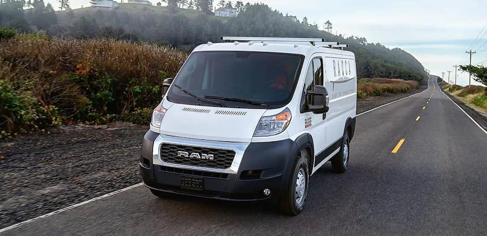 2019 Ram ProMaster on the road