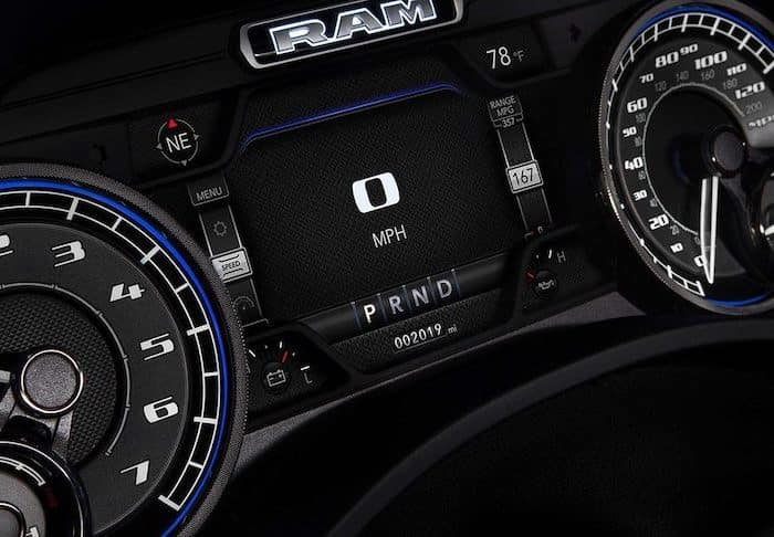 All-New 2019 Ram 1500 Instrument Cluster