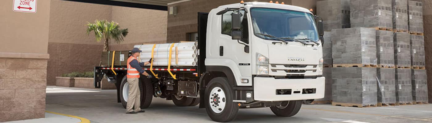 Isuzu F Series flatbed