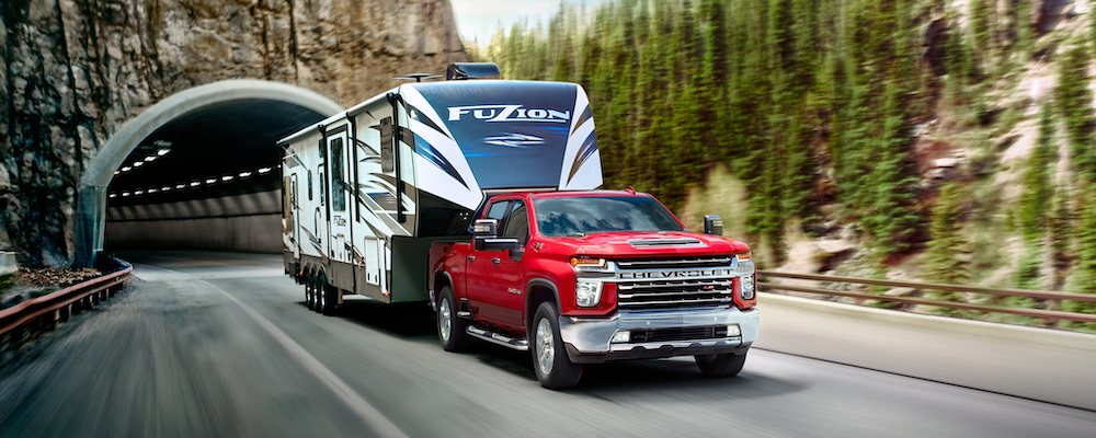 What is the 2020 Chevy Silverado HD Max Towing Capacity?