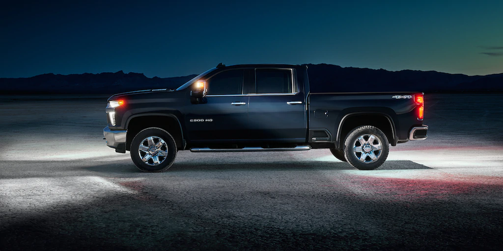 2020 Chevrolet Silverado 2500HD from the side