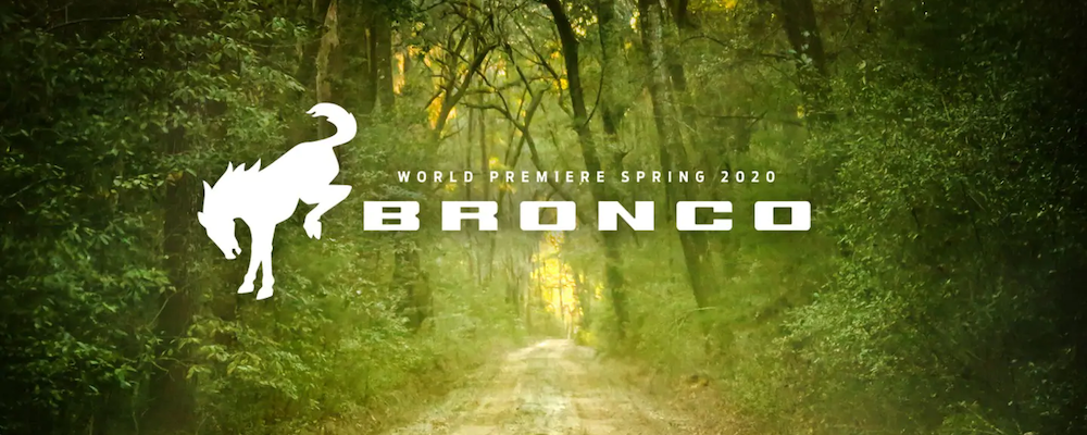 2020 Ford Bronco reveal in spring 2020