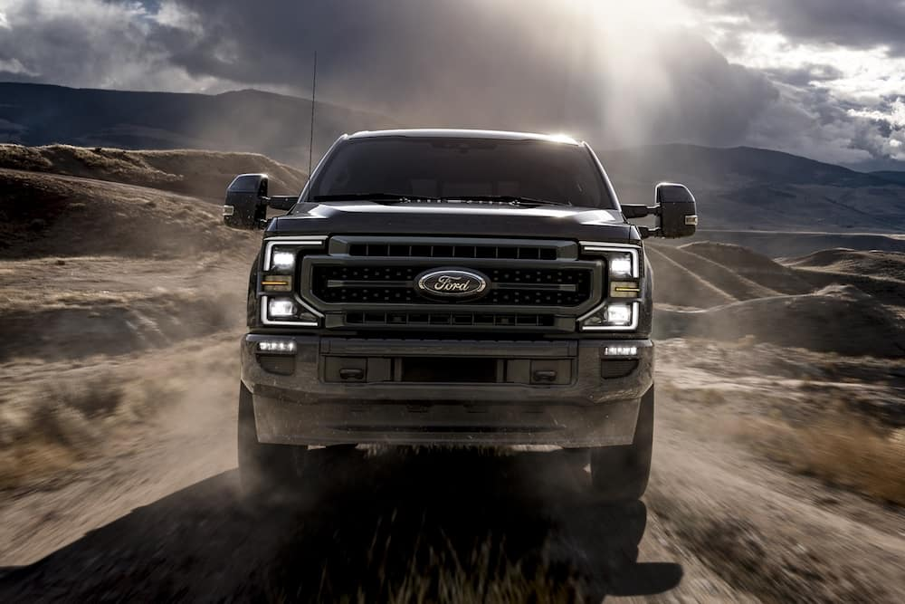 2020 Ford Super Duty Lariat with Sport Appearance Package