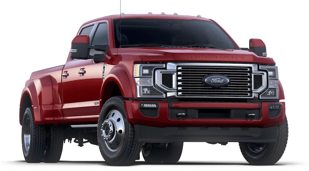 2020 Ford Super Duty - Rapid Red