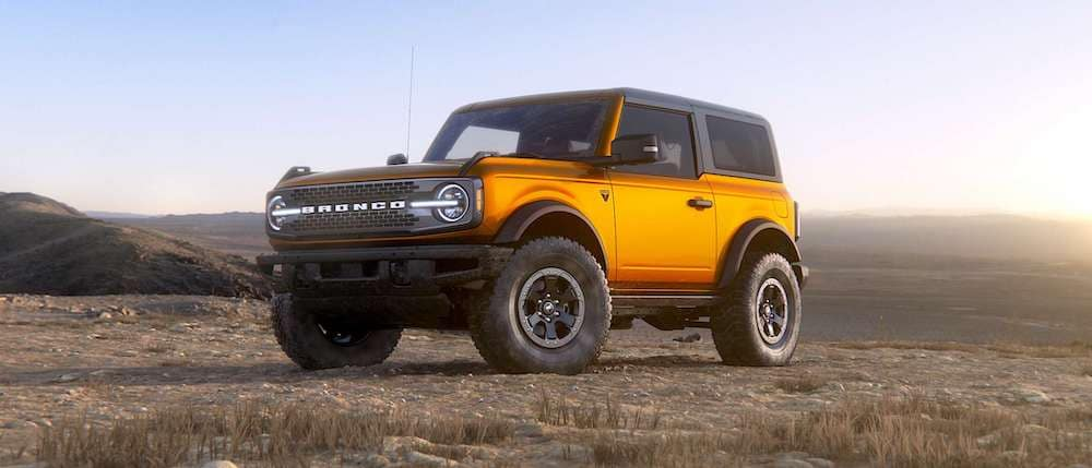 2021 Ford Bronco 2-Door in Cyber Orange