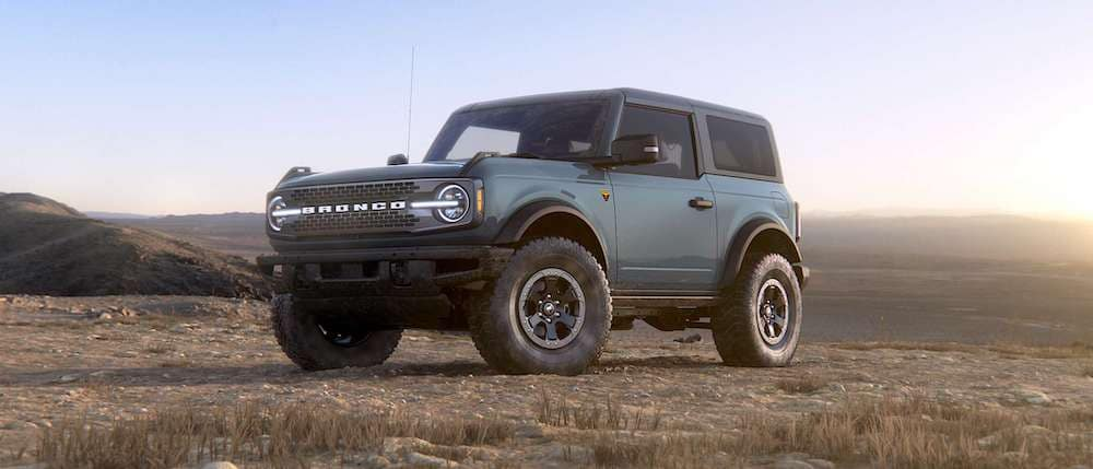 2021 Ford Bronco 2-Door in Area 51