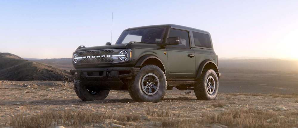 2021 Ford Bronco 2-Door in Carbonized Gray