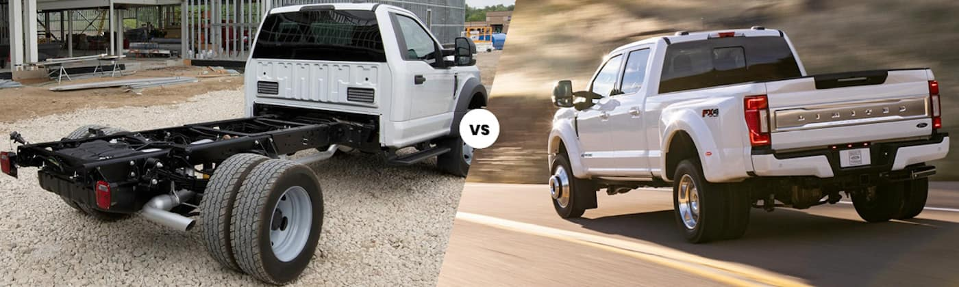 Cab chassis vs pickup truck