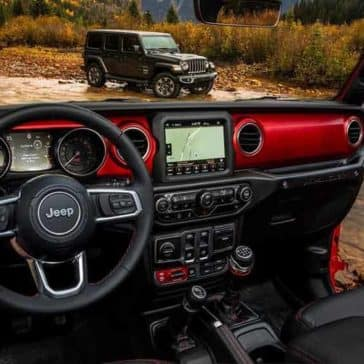2018 Jeep Wrangler Interior Dashboard