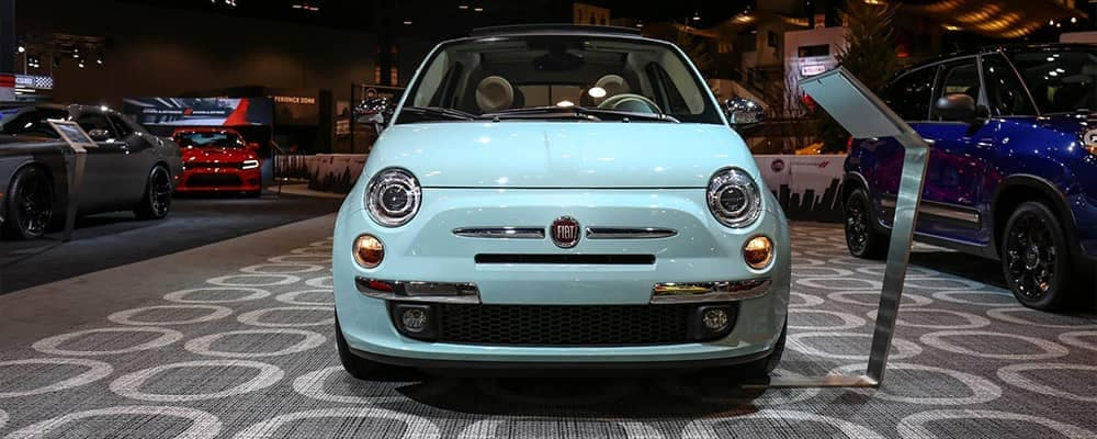 2017 Chicago Auto Show Fiat 500 from Fiat Blog