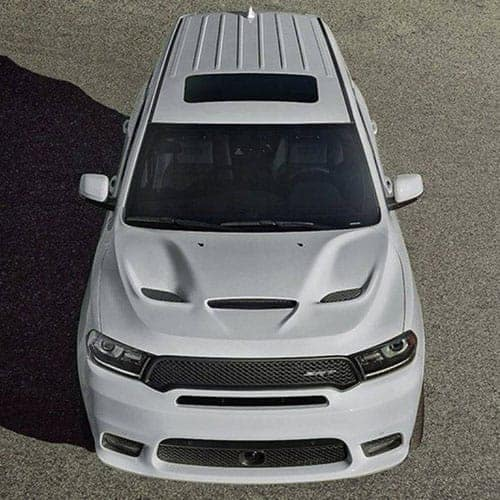 2018-Dodge-Durango-White-Overhead-View