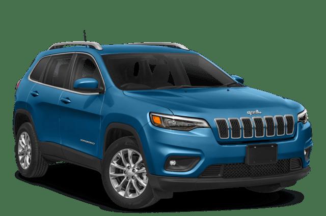 2019 Jeep Cherokee Angled