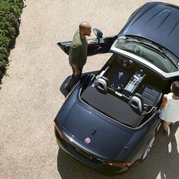 2017 Fiat 124 Spider Aerial View
