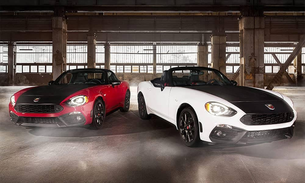 2017 Fiat 124 Spider Heritage Racing Stripe