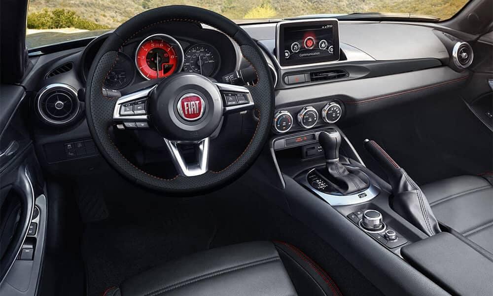 2017 Fiat 124 Spider Interior