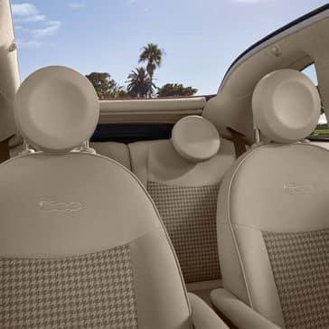 2017 Fiat 500 Interior