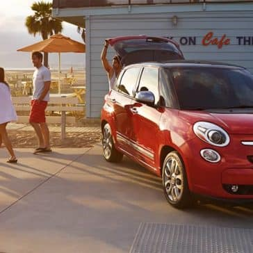 2017 Fiat 500L Beach Cafe