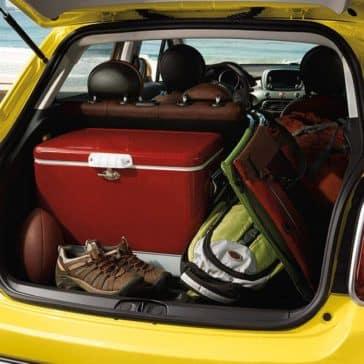 2017 Fiat 500X Interior Cargo
