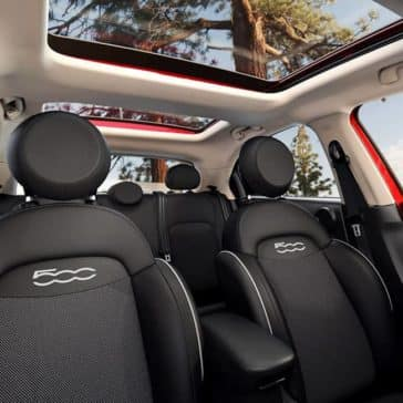2017 Fiat 500X Interior Seating