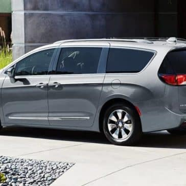2019 Chrysler Pacifica rear view