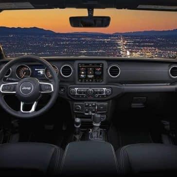 2019 Jeep Wrangler front seat interior