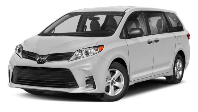 2019 Toyota Sienna Comparison Image