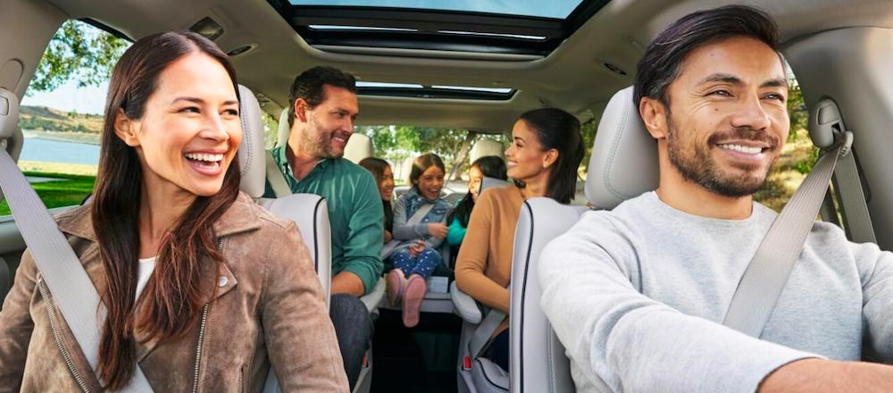 A Family Enjoying the 2019 Chrysler Pacifica Interior