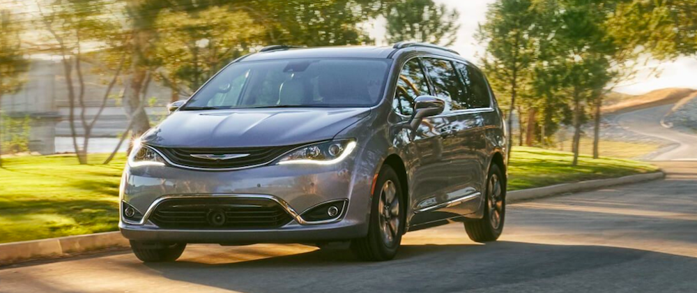 2019 Chrysler Pacifica Driving on a Street