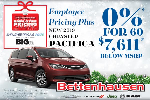 Don't Miss This Pacifica Offer!