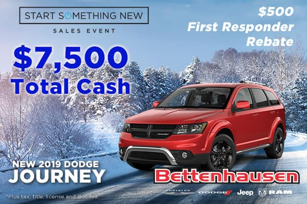 Don't Dodge This Journey Offer!